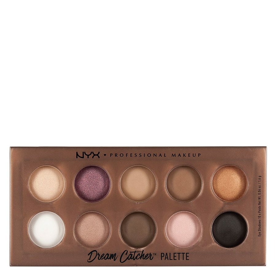 NYX Prof. Makeup Dream Catcher Shadow Palette Golden Horizons 16g