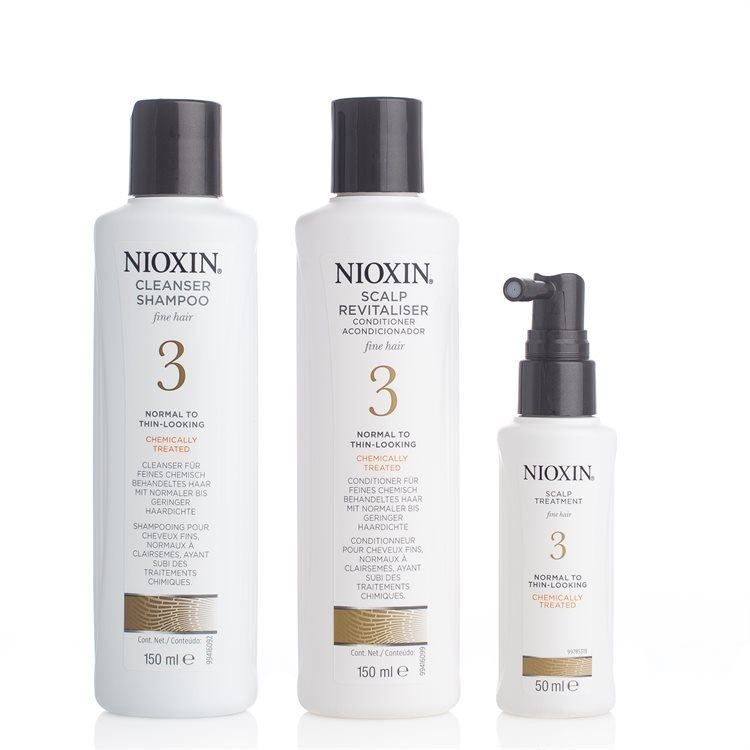 Nioxin Hair System Kit System 3 3pcs. set
