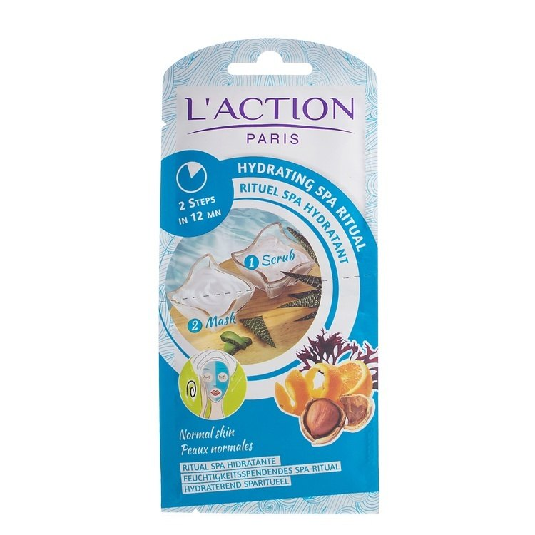 L'Action Paris Hydrating Spa Ritual 2 In 1 (7g+8g)