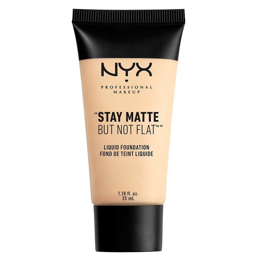 NYX Professional Makeup Stay Matte But Not Flat Liquid Foundation 35ml - Ivory SMF01