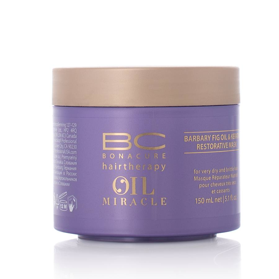 Schwarzkopf BC Bonacure Oil Miracle Barbary Fig Oil & Keratin Restorative Mask 150 ml