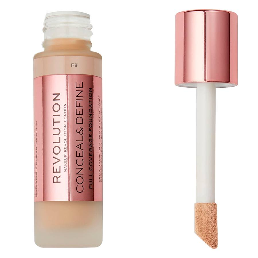 Makeup Revolution Conceal & Define Foundation F8 23ml