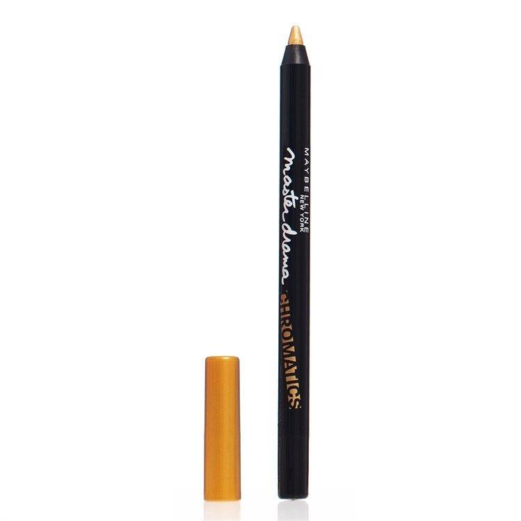 Maybelline Master Drama Chromatics Eye Liner – Vibrant Gold