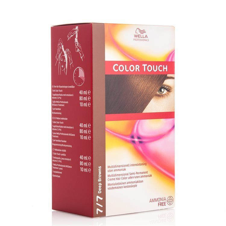Wella Professionals Color Touch 130 ml – 7/7 Deep Browns