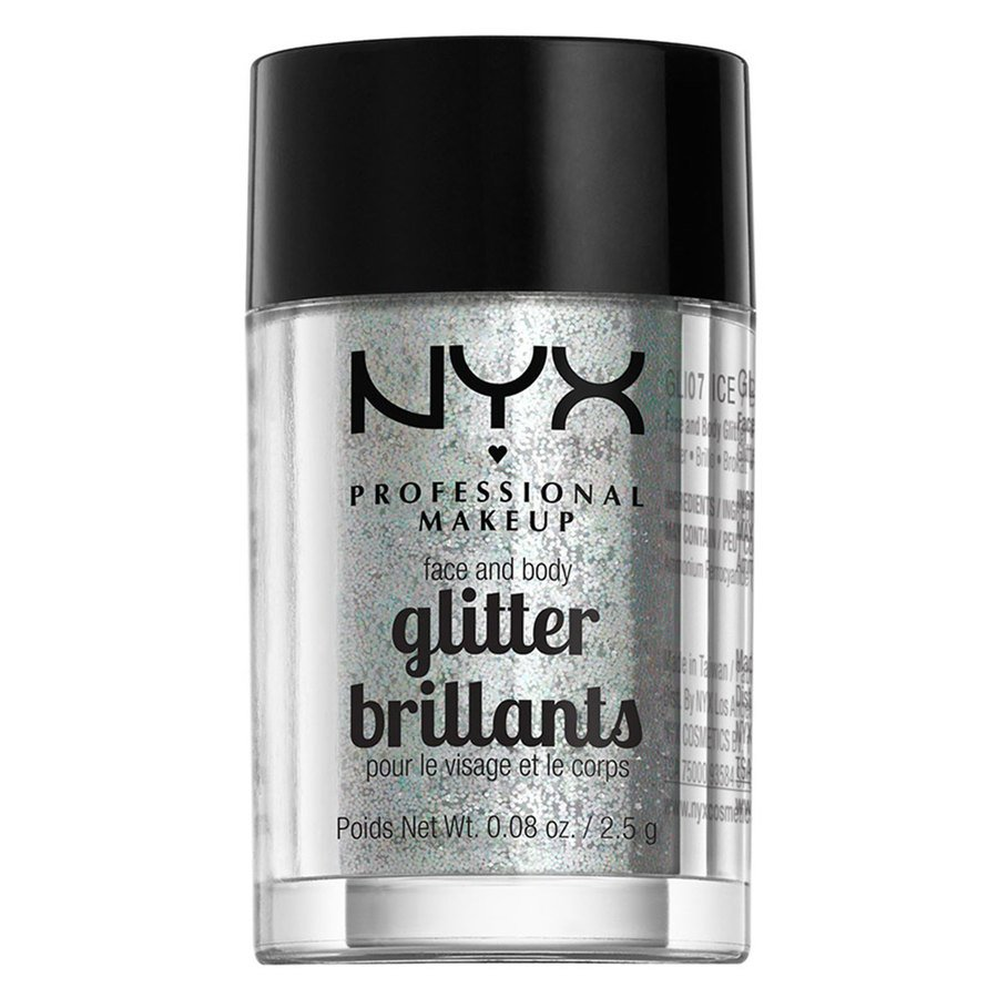 NYX Professional Makeup Face And Body Glitter Brillants 2,5g – Ice GLI07