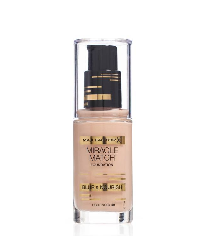 Max Factor Miracle Match Foundation – Light Ivory 040