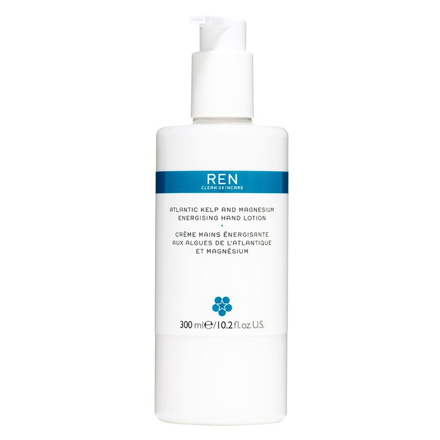 REN Atlantic Kelp And Magnesium Energising Hand Lotion 300 ml
