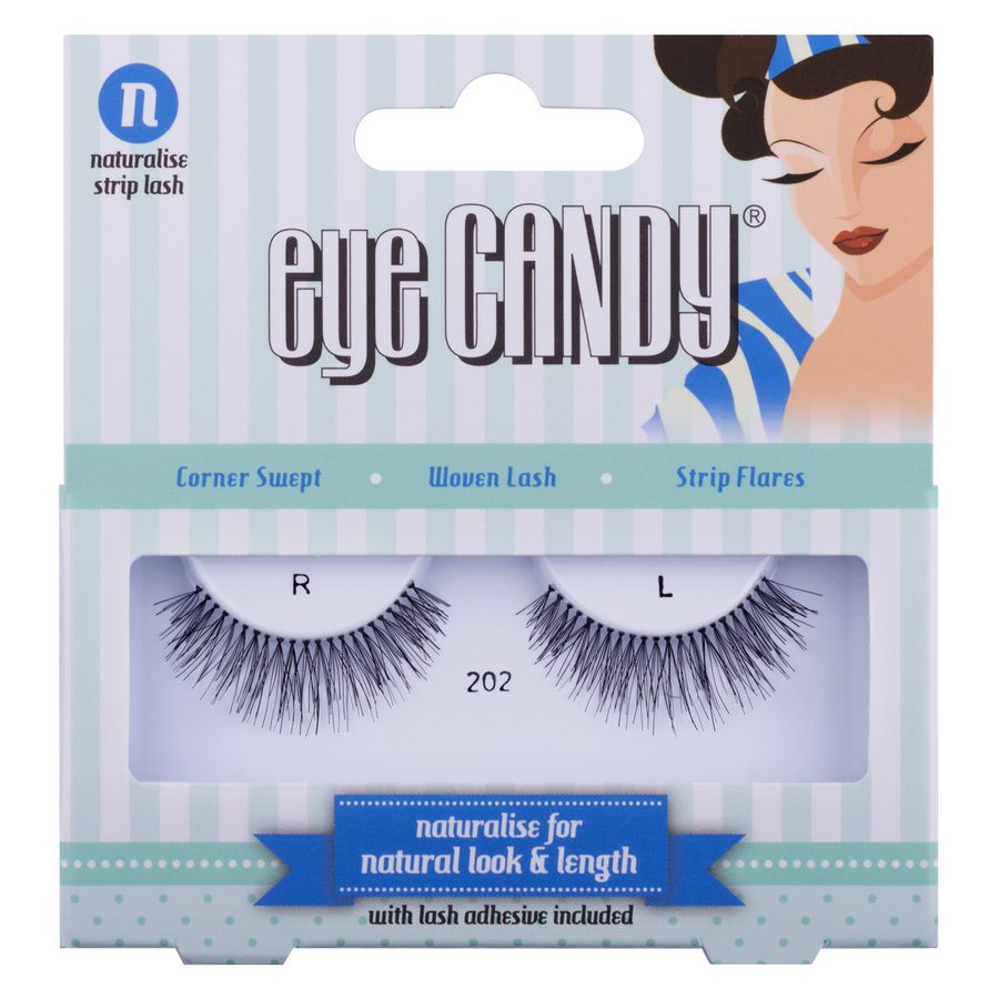 Eye Candy Strip Lash - #202 Naturalise