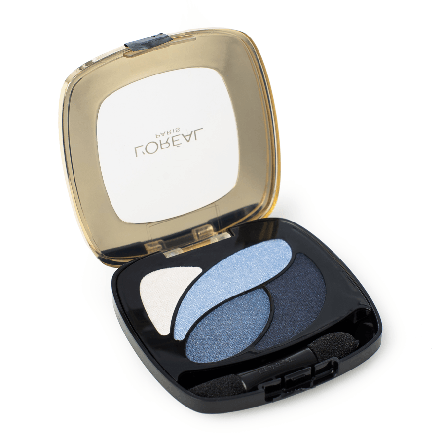 L'Oréal Paris Colour Riche Les Ombres Quad Eyeshadow – E8 Eternal Blue 2,5g