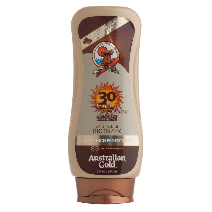 Australian Gold 30 Lotion Sunscreen With Instant Bronzer 237 ml