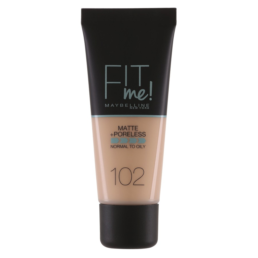 Maybelline Fit Me Makeup Matte + Poreless Foundation 102 30ml