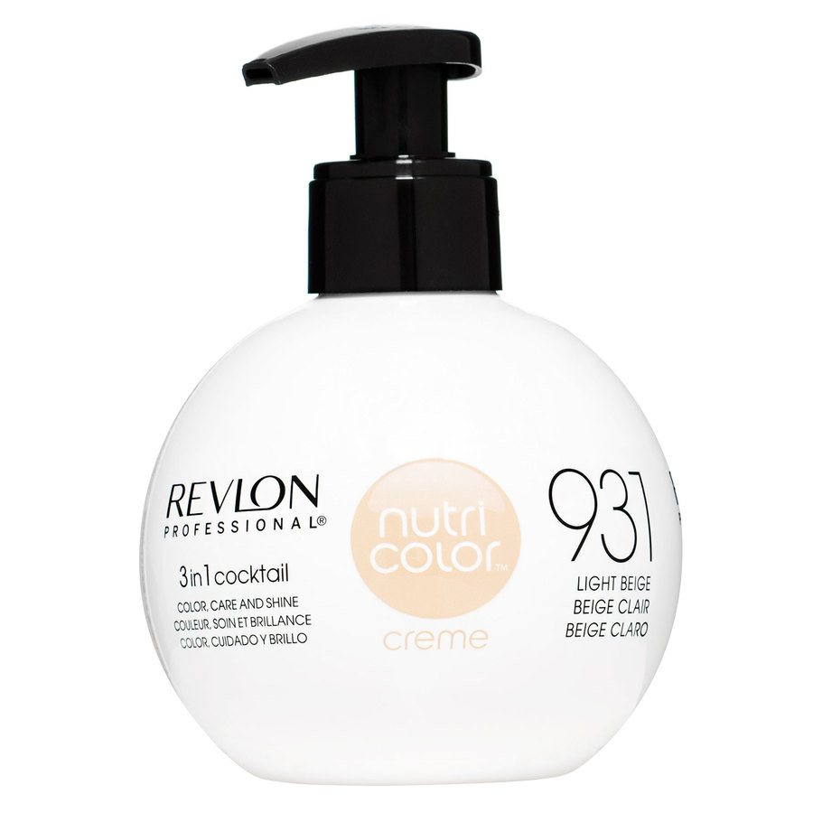 Revlon Professional Nutri Color Creme 250 ml – 931 Light Beige