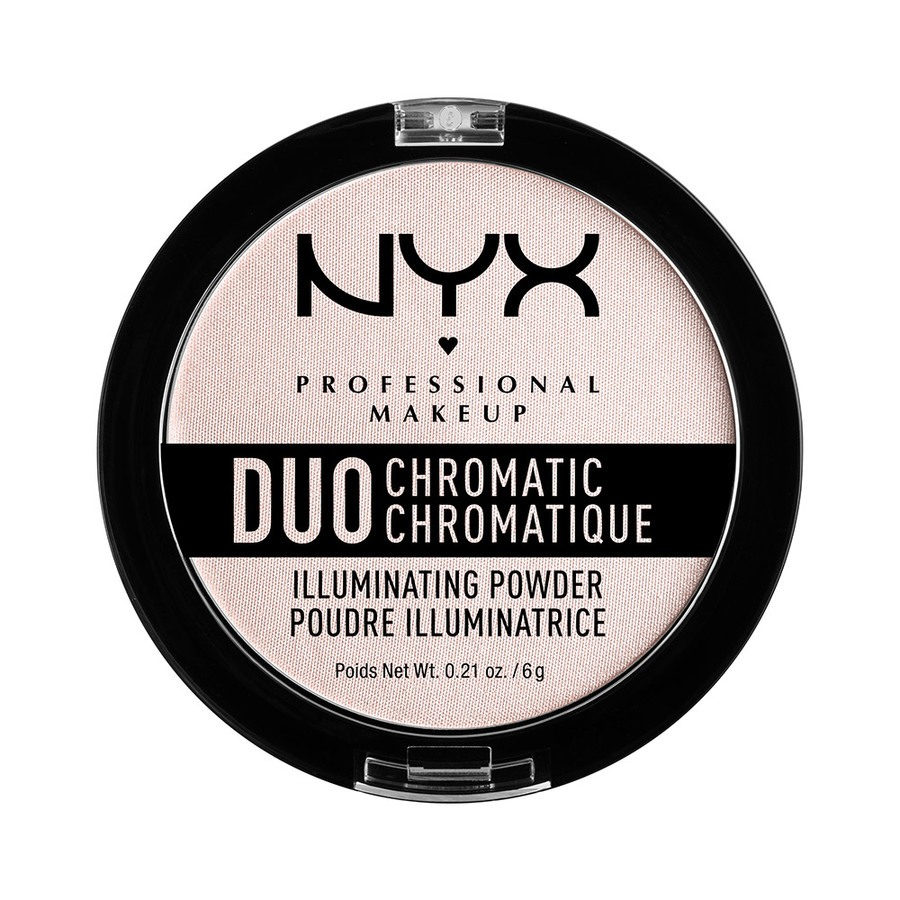 NYX Professional Makeup Duo Chromatic Illuminating Powder – Snow Rose