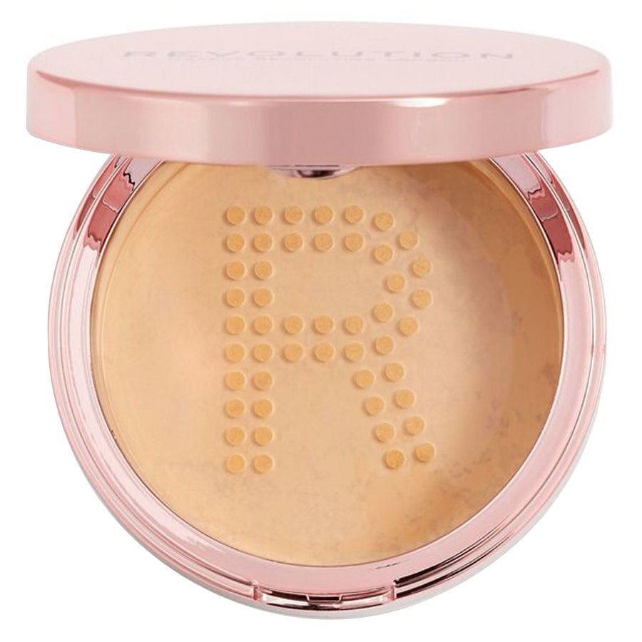 Makeup Revolution Conceal & Fix Setting Powder 13 g - Medium Beige