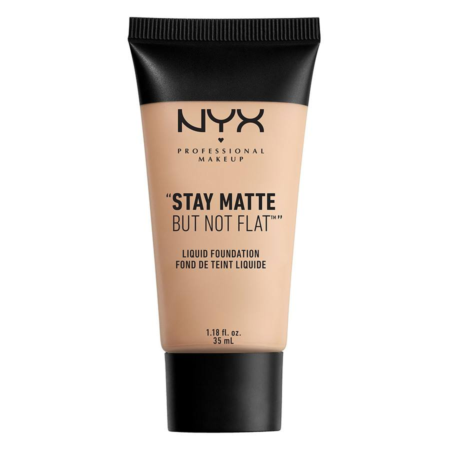 NYX Professional Makeup Stay Matte But Not Flat Liquid Foundation 35ml – Porcelain SMF16