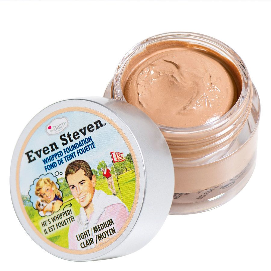 The Balm Even Steven Whipped Foundation 13,4 ml – Light/Medium