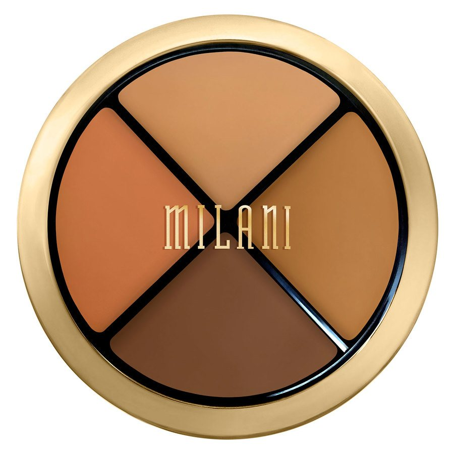 Milani Conceal + Perfect All-In-One Concealer Kit 7,2 g - Dark To Deep