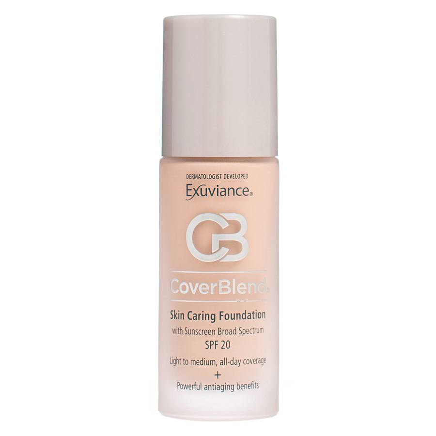 Exuviance CoverBlend Skin Caring Foundation SPF 20 30 ml – Bisque