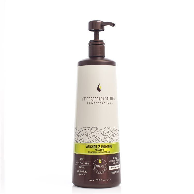 Macadamia Professional Weightless Moisture Shampoo 1000 ml