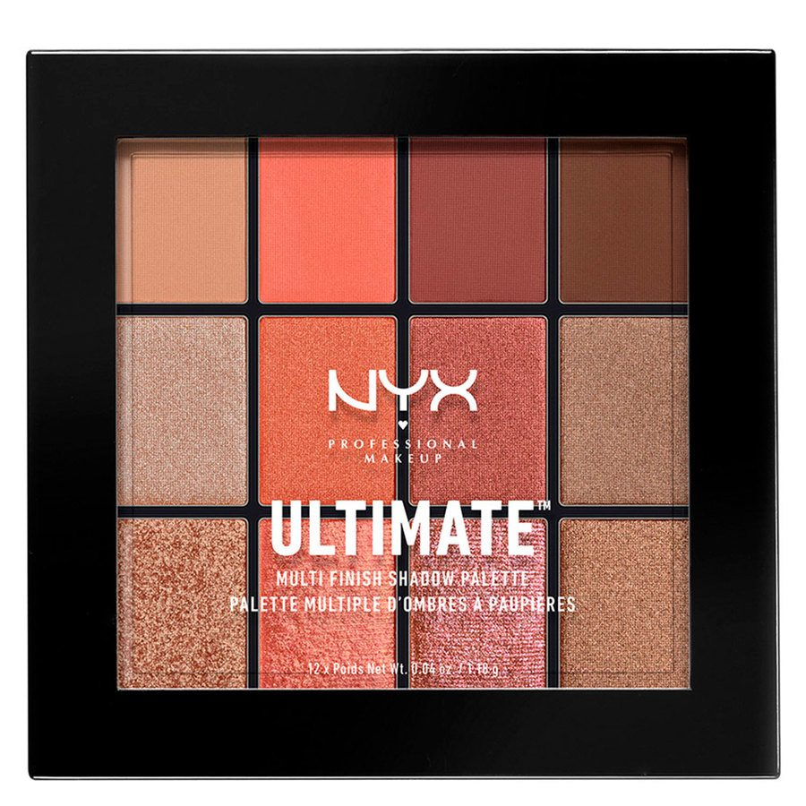 NYX Professional Makeup Ultimate Multi-Finish 18 g – Warm Rust