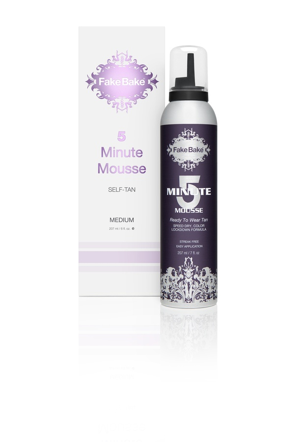 Fake Bake 5 Minute Mousse Instant Self-Tan 207 ml