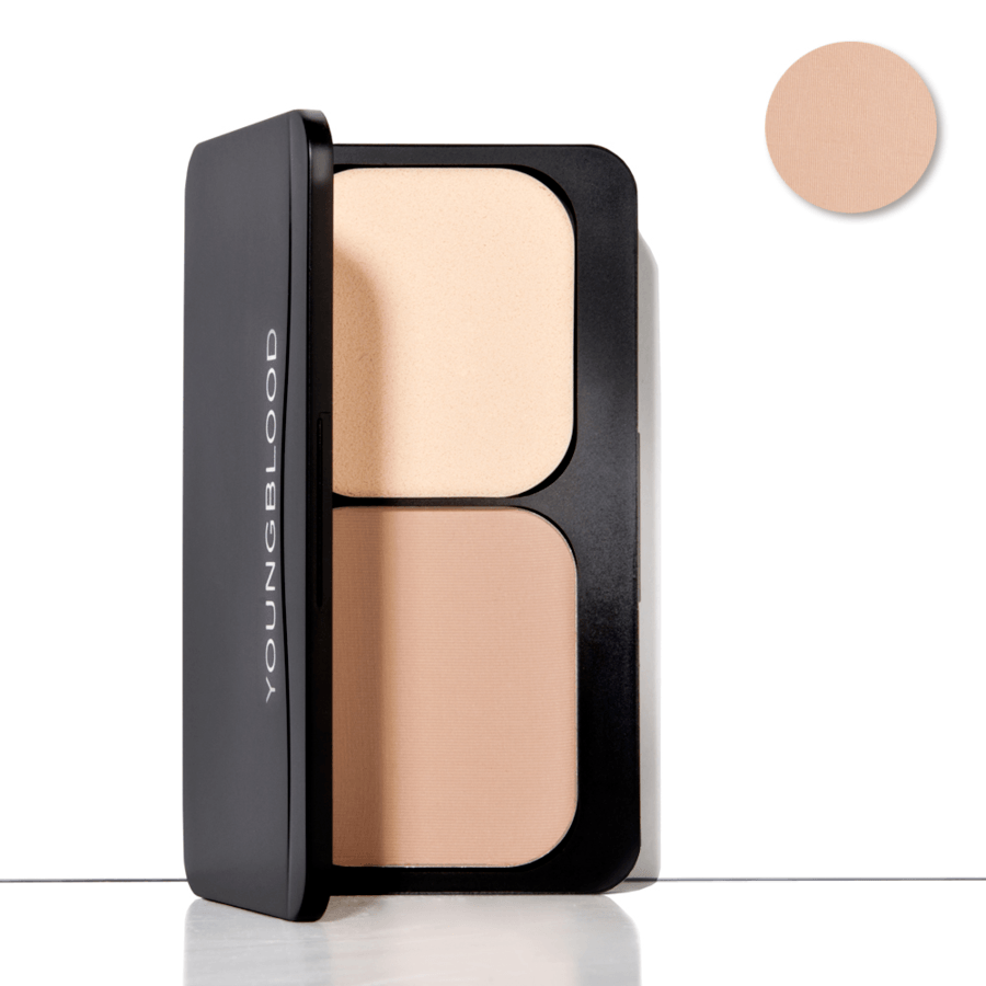 Youngblood Pressed Mineral Foundation – Honey 8g