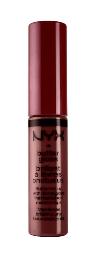 NYX Prof. Makeup Butter Gloss – Devils Food Cake 6,5g