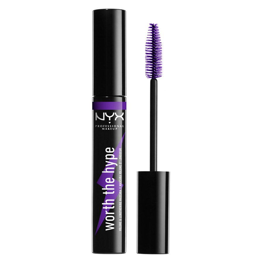 NYX Professional Makeup Worth The Hype Color Mascara Purple 7g