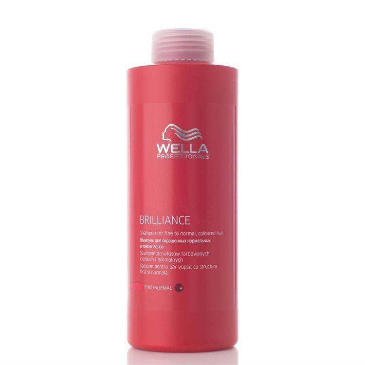 Wella Professionals Brilliance Shampoo for Fine/Normal Hair 1 000 ml