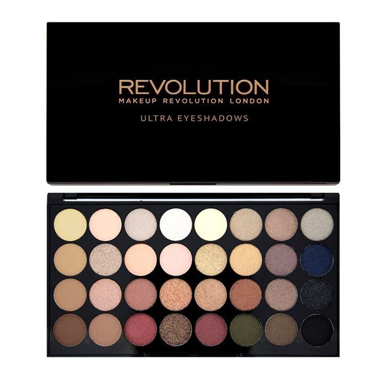Makeup Revolution 32 Eyeshadow Palette 16 g Flawless