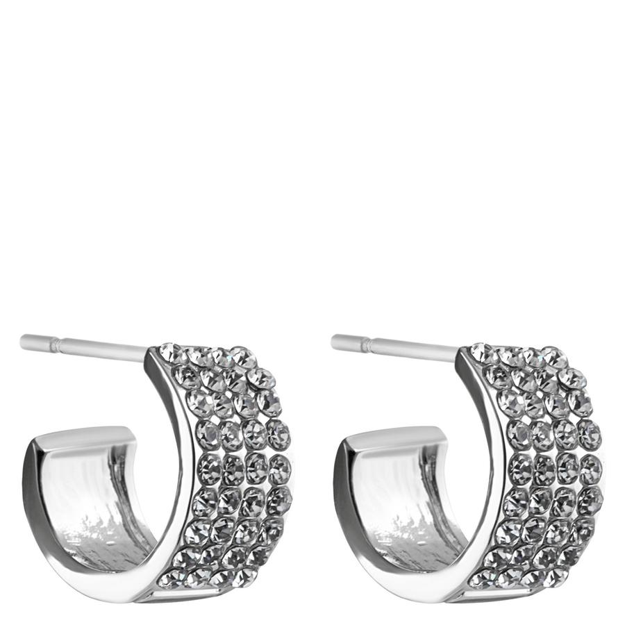 Snö Of Sweden Carrie Small Earring – Silver/Clear