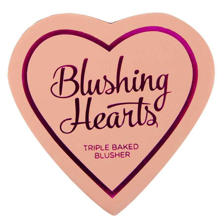 I Heart Revolution Blushing Hearts Blusher – Peachy Pink Kisses 10g