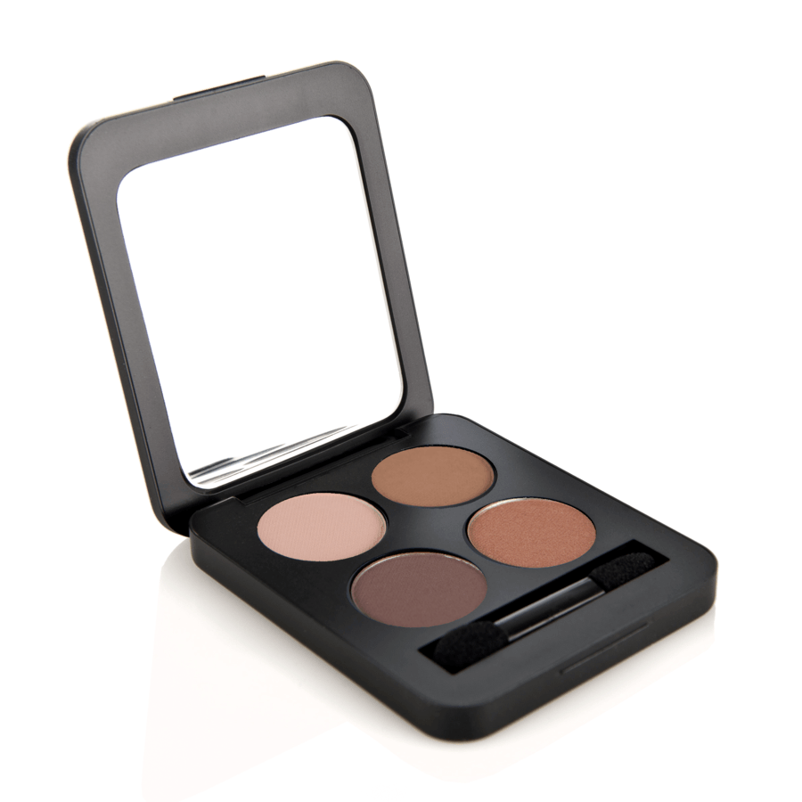 Youngblood Pressed Mineral Eyeshadow Quad 4 g – Timeless