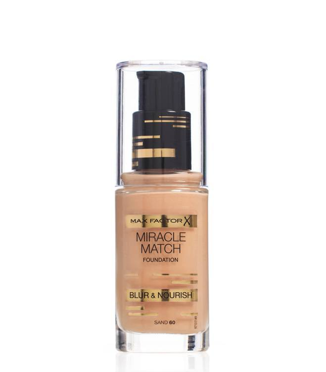 Max Factor Miracle Match Foundation – Sand 060