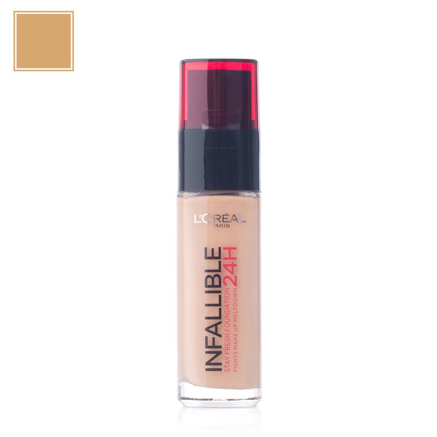 L'Oréal Paris Infallible 24H Liquid Foundation – 235 Honey 30ml