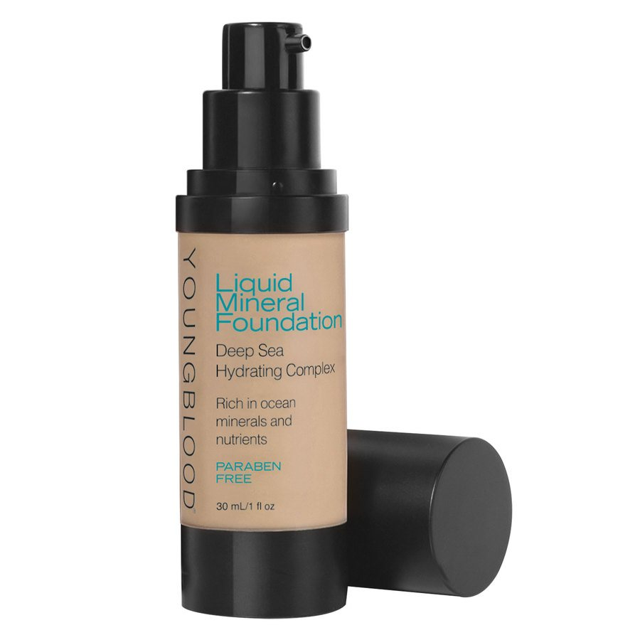 Youngblood Liquid Mineral Foundation – Sun Kissed 30 ml