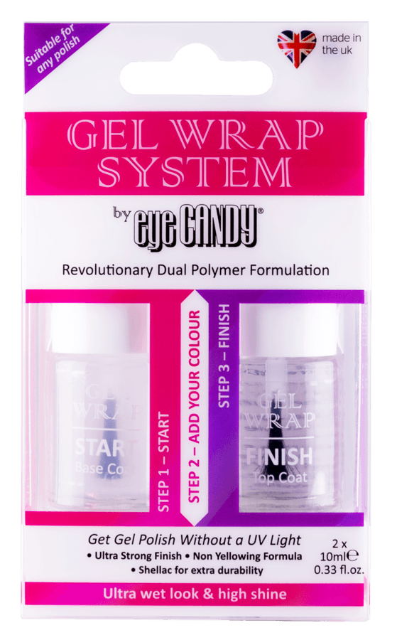 Eye Candy ECL Gel Wrap System 2 x 10 ml