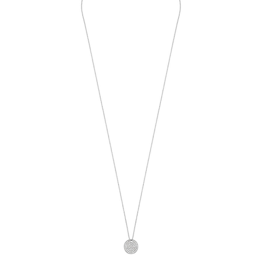 Snö of Sweden Corinne Pendant Necklace 60 cm - Silver/Clear