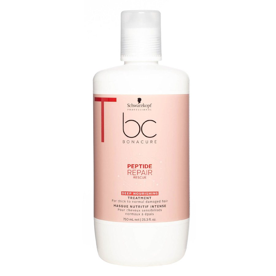 Schwarzkopf BC Peptide Repair Rescue Treatment Deep Nourishing 750 ml