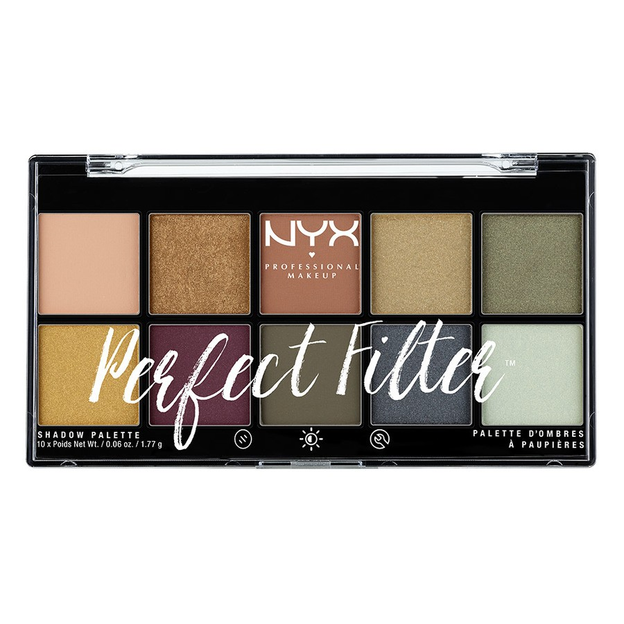 NYX Professional Makeup Perfect Filter Shadow Palette Olive You