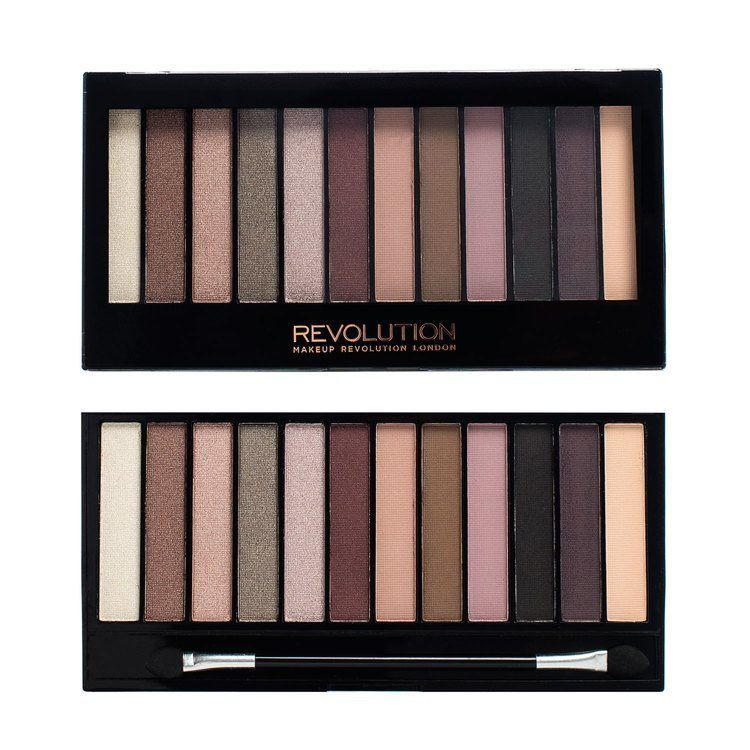 Makeup Revolution Redemption Palette 14 g - Romantic Smoked