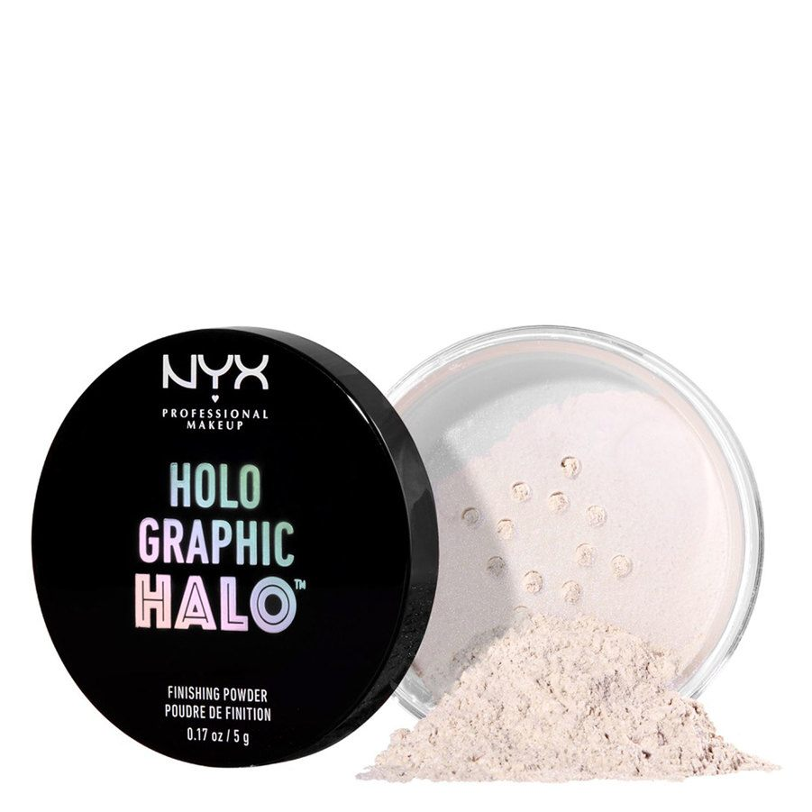 NYX Professional Makeup Holographic Halo Finishing Powder – Mermazing