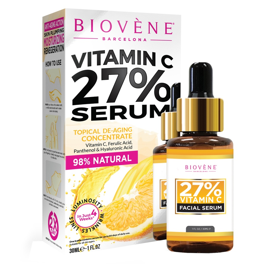 Biovène Vitamin C 27% Facial Serum 30 ml