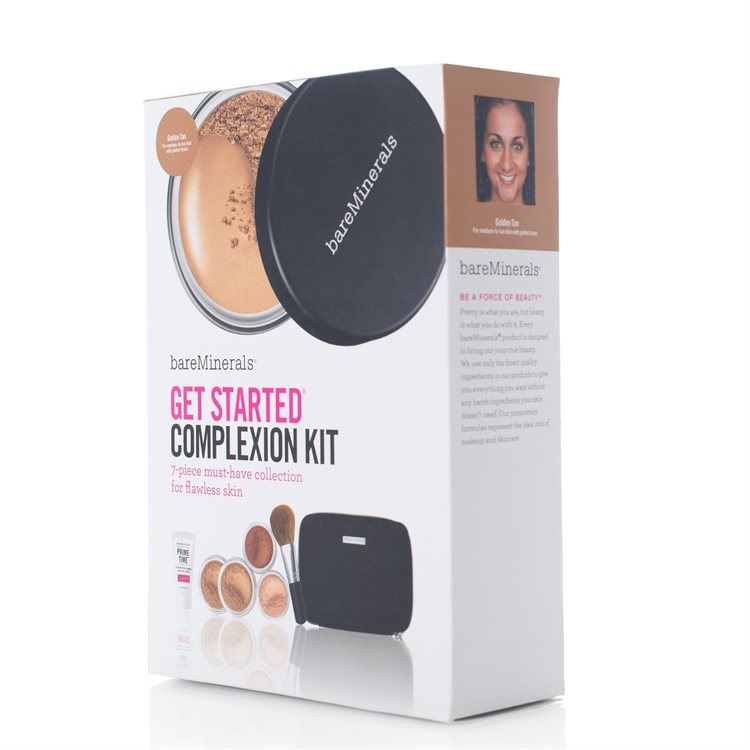 bareMinerals Get Started Complexion Kit – Golden Tan