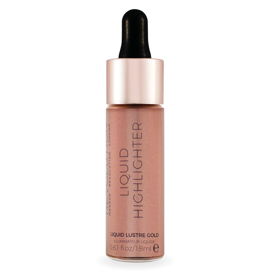 Makeup Revolution Liquid Highlighter Liquid – Lustre Gold 18 ml