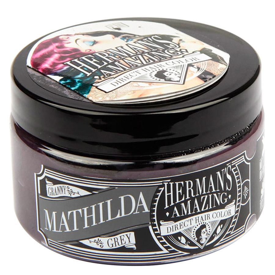 Herman's Amazing Direct Hair Color 115 ml – Mathilda Granny Grey