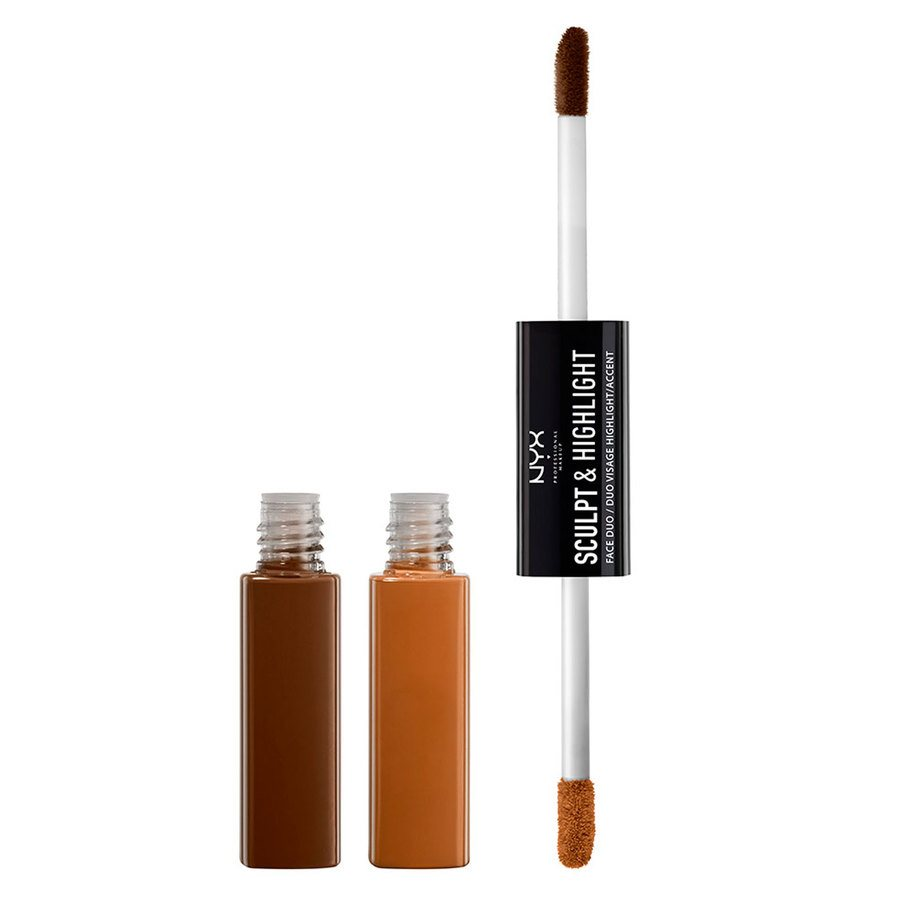 NYX Prof. Makeup Sculpt & Highlight Face Duo – Espresso/Honey 5,3ml