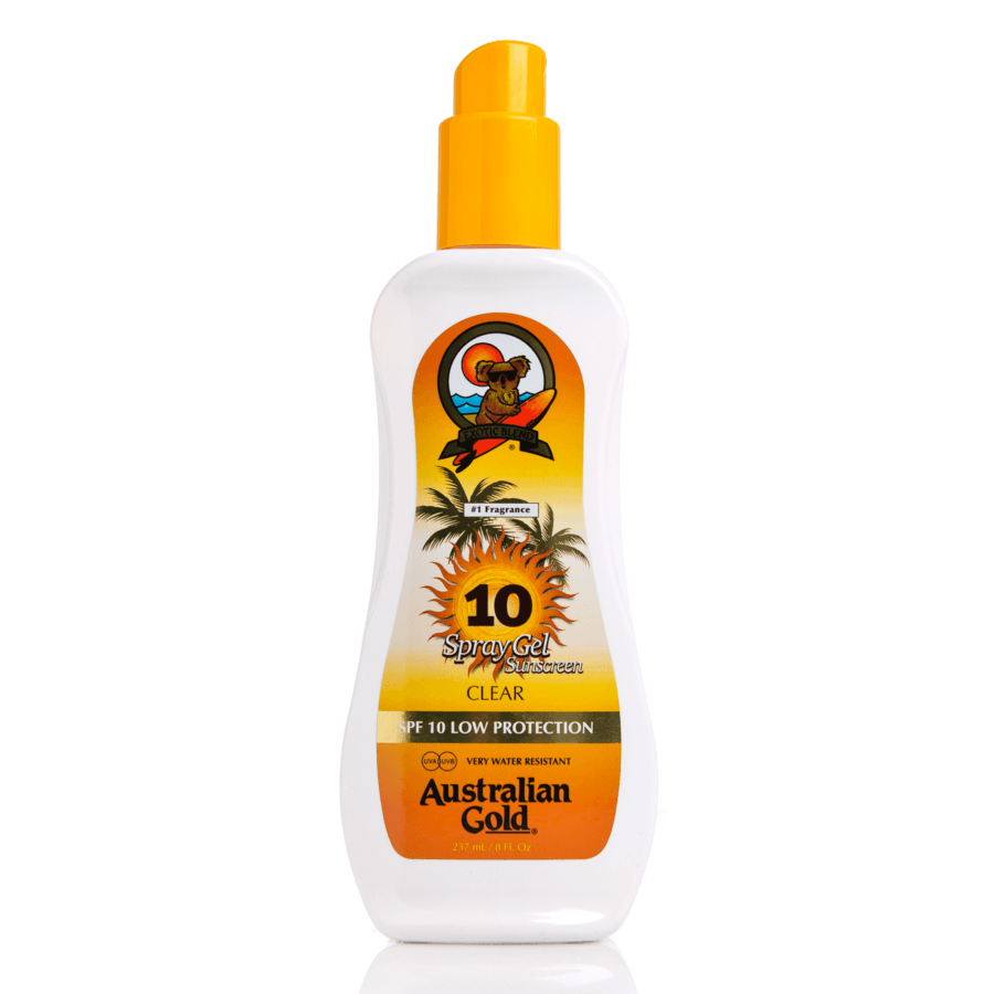 Australian Gold SPF 10 Spray Gel 237 ml