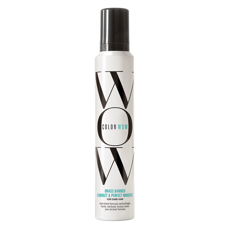 Color Wow Brass Banned Correct & Perfect Mousse For Dark Hair 200 ml