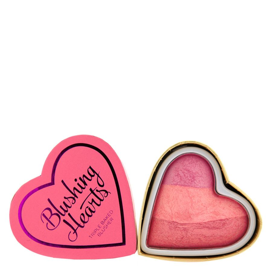 I Heart Revolution Blushing Hearts Blusher – Blushing Heart